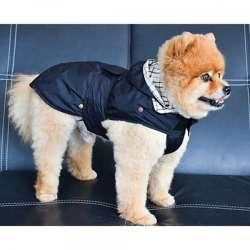 Imperméable pour chien Newgen Tonga noir
