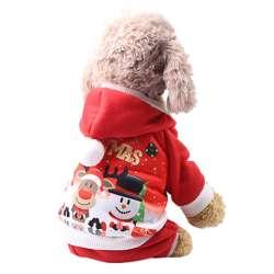 Vêtement Noël petit chien - Combinaison Noël de marque :