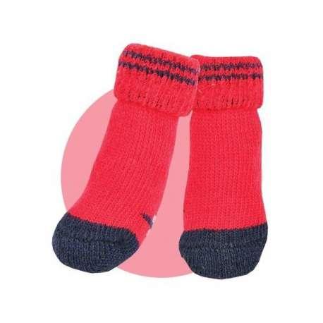 Chaussettes Puppia Rouge de marque :