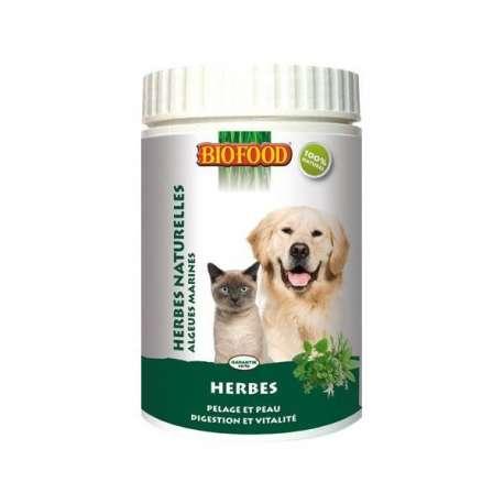 Herbes naturelles pour chien et chat Biofood de marque : Biofood