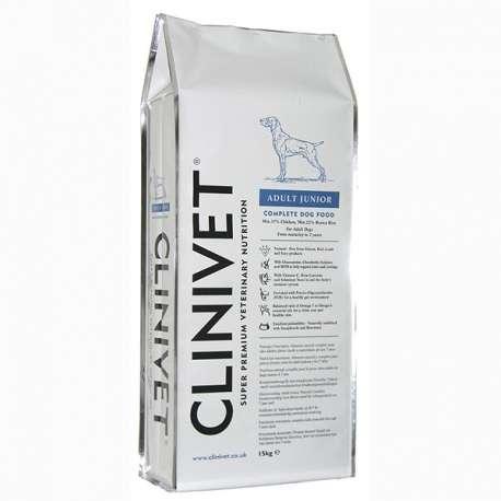 CROQUETTE CHIEN ADULTE JUNIOR - 15 KG - CLINIVET
