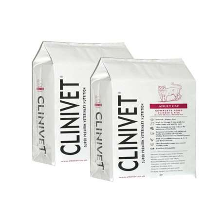 CROQUETTE CHAT ADULTE - 2 X 1,5 KG - CLINIVET