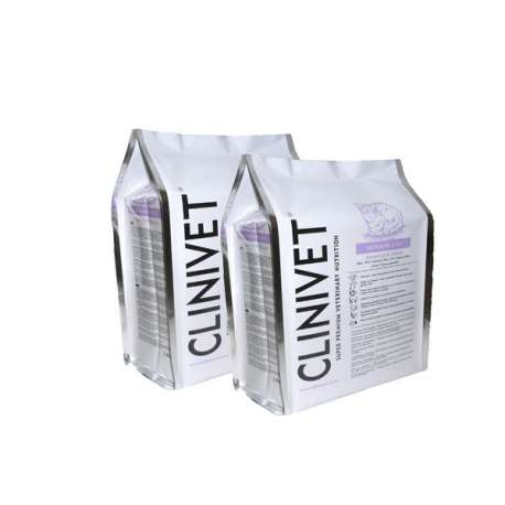 CROQUETTE CHAT ADULTE SENIOR - 2 X 1,5 KG - CLINIVET