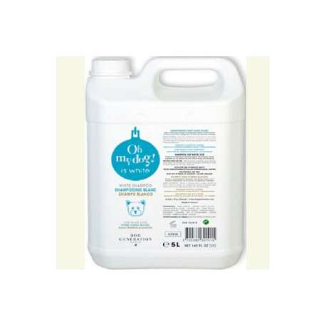 Shampooing pour chien blanc Oh my dog - 5L de marque : OH MY DOG !
