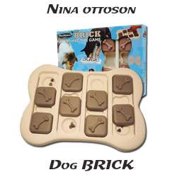 Dog Brick Jouet éducatif Chien Chat Nina Ottosson