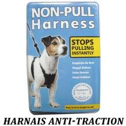 Harnais pour chiens anti-traction confort de marque :
