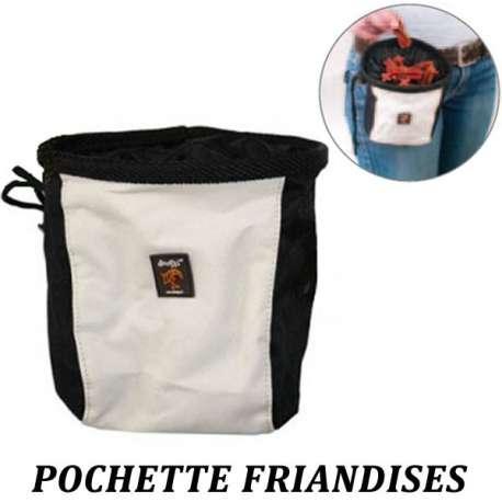 Pochette, sac à friandises pour chien - Doogy