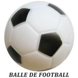 Balle football en vinyl - Diam 6,5 cm