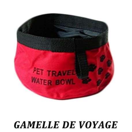 Gamelle voyage pour chien - Gamelle souple 1,75L de marque :