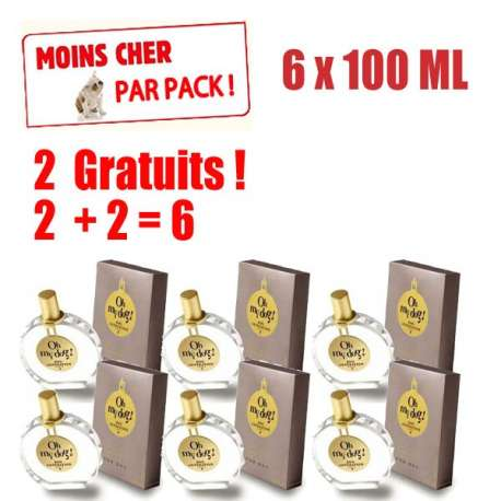 4 parfums oh my dog 4x100ml 2x100ml gratuits canislana. Black Bedroom Furniture Sets. Home Design Ideas