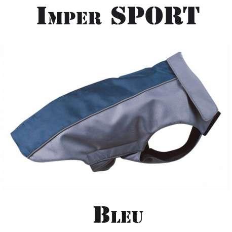 Destockage Imperméable pour chien bleu - Sport de marque : CANISLANA For dogs