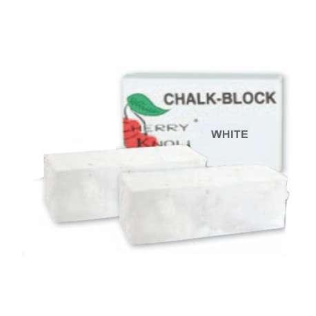 Bloc de craie blanche - 2 blocs