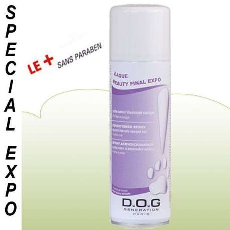 Conditionneur Final chien, chat - Expo de marque : DOG GENERATION