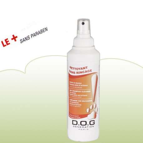 Shampooing a sec - lotion 250ml - Dog generation