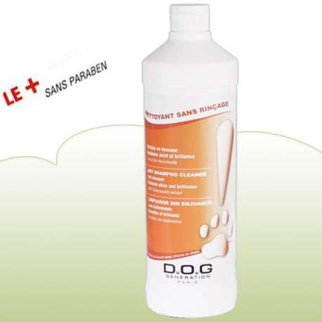 Shampooing a sec - lotion 1 L - Dog generation
