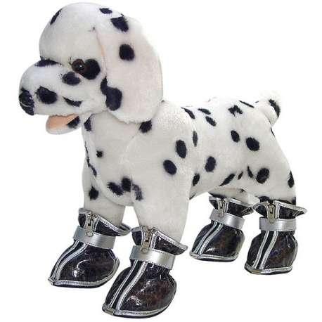 Chaussures pour chien - 4 chaussures souples de marque :