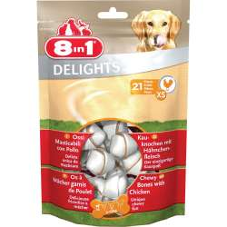 Friandises à macher petits chiens - Delight - 8 IN 1