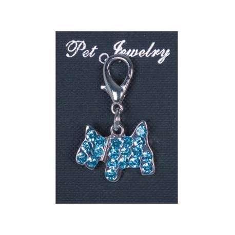 Pendentif pour chien - Chiot Algue marine de marque : DOOGY