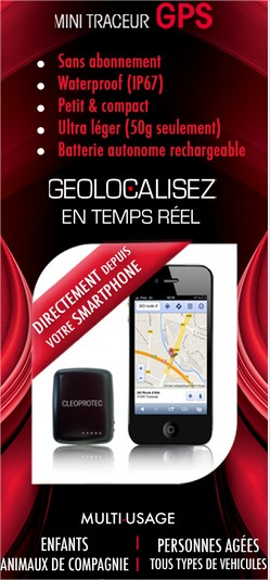 Traceur gps multi-fonctions